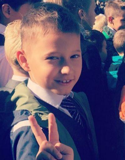 Сын Курбана Омарова пошел во второй класс