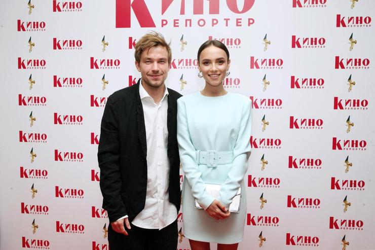 Александр Петров и Стася Милославская