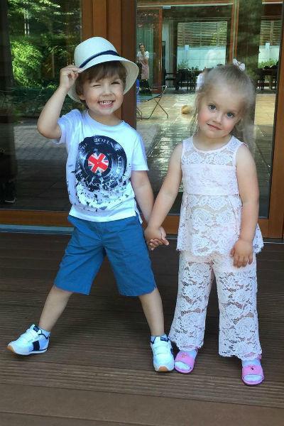 Дети Пугачевой и Галкина растут очень артистичными