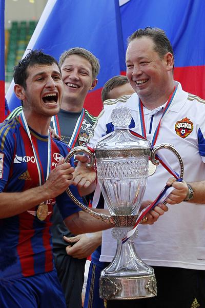 Слуцкий покинул армейцев после матча 2016-го, в котором ЦСКА уступил в Лиге чемпионов «Тоттенхэму» со счетом 1:3