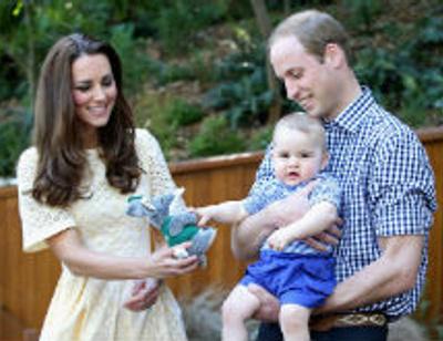 Принц Георг получает больше всех подарков в королевской семье