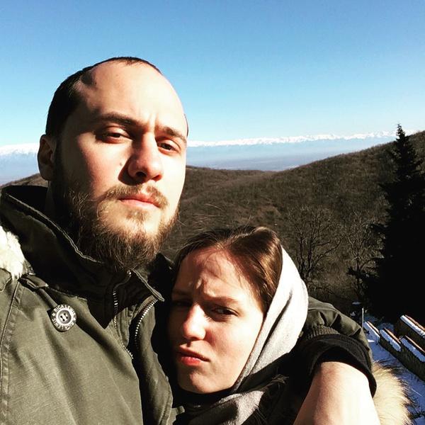 Георгий с женой Аней