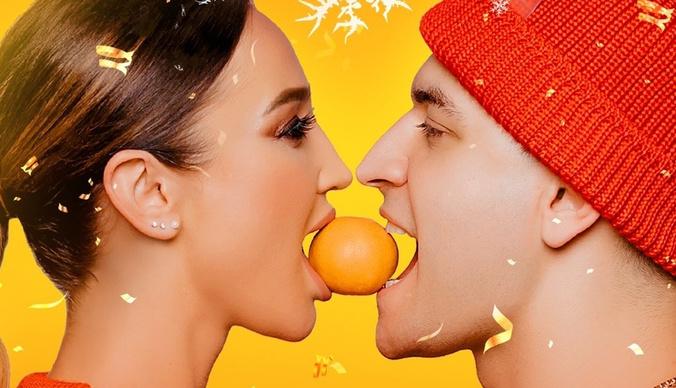 Первый откровенный поцелуй Ольги Бузовой с Давой в клипе «Мандаринка»