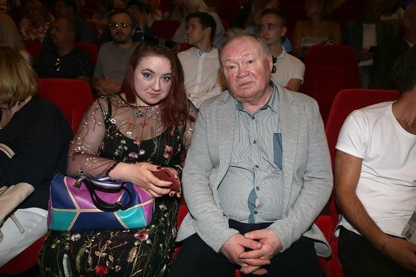 Юрий Кузнецов с дочерью