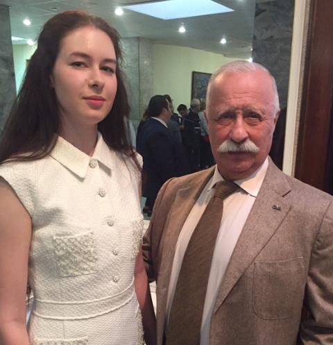 Варвара и Леонид Якубовичи