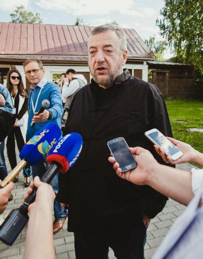 Президент кинофестиваля Павел Лунгин