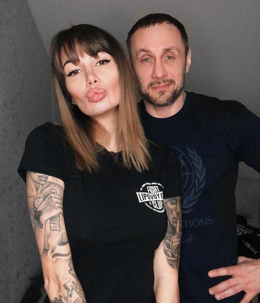 Саша Кабаева и Александр Липовой
