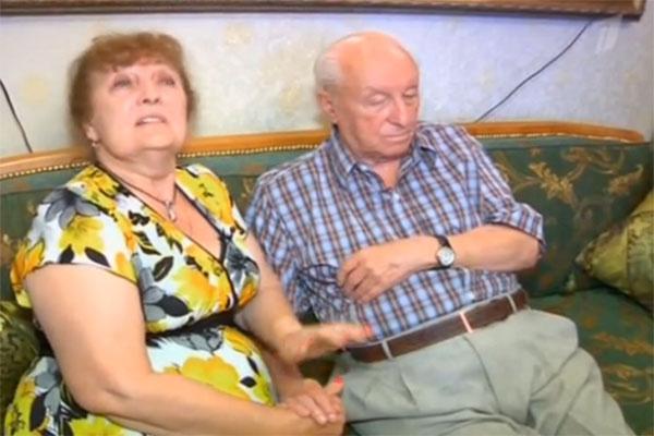 Отец Любови Казарновской и его последняя жена