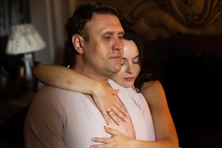 Актрисе досталась роль жены одного из двух главных героев