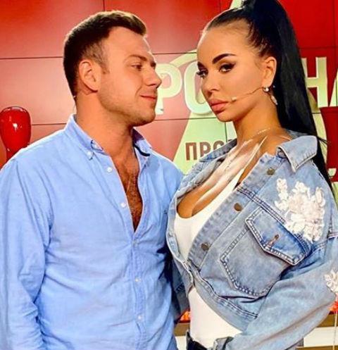 Валерий Блюменкранц и Анна Левченко подали заявление в загс