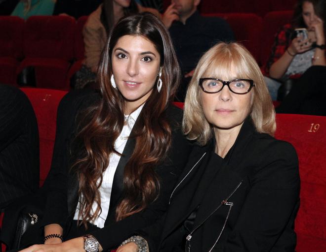 На кинопремьерах Глаголеву часто сопровождала дочь Мария