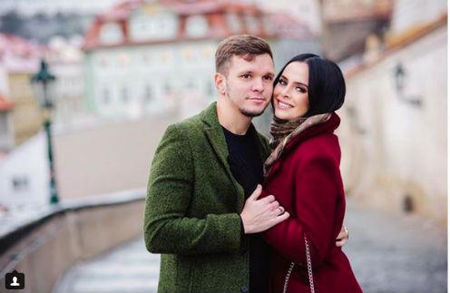 Антон Гусев и Виктория Романец в Праге