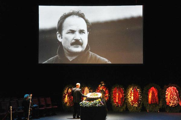 В Москве проходит прощание с Николаем Губенко