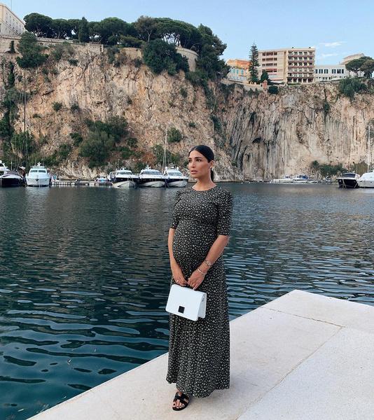 Санта Димопулос будет рожать в Монако
