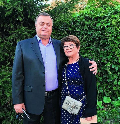 Владимир Борисович и Ольга Владимировна Фриске