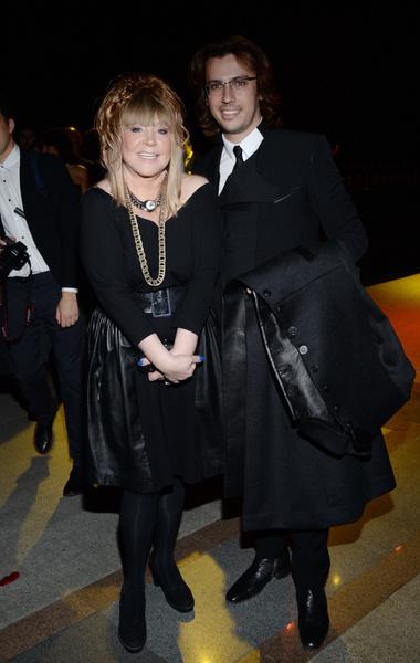 Алла Пугачева с мужем Максимом Галкиным