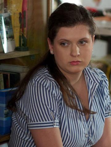 Героиня Денисовой Катя Швиммер - девушка весомых достоинств