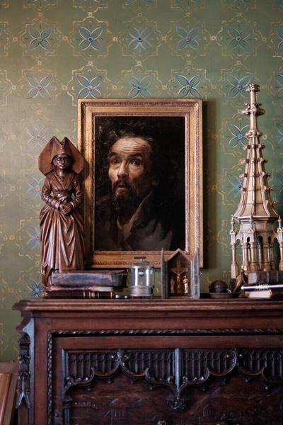 В квартире художника все радует глаз