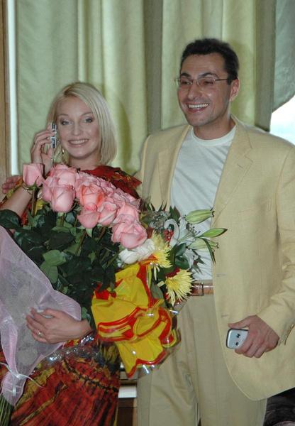 Волочкова и Вдовин не смогли остаться друзьями