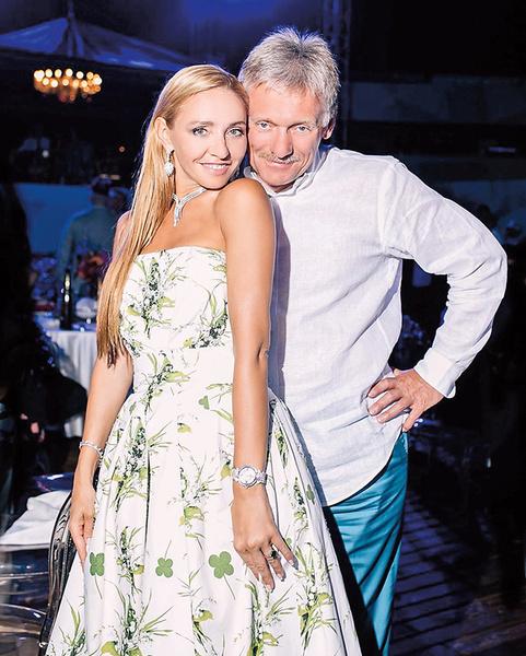 Дмитрий Песков и Татьяна Навка были самой романтичной парой