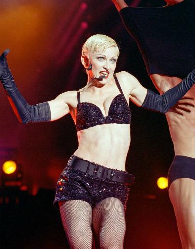 Мадонна ввела моду на короткие стрижки, 1993 год