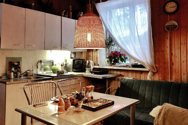 На кухне молодых царит уют