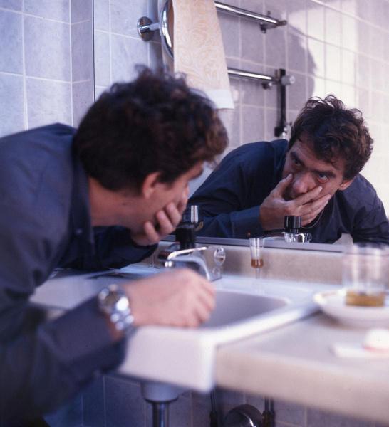 Гаркалин не раз воплощал на экране пьющих людей. В фильме «Катала» Сергея Бодрова-старшего