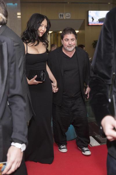 Александр Цекало с женой Дариной Эрвин