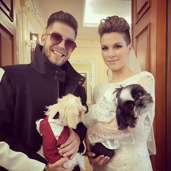 Евдокия и ее жених Георгий