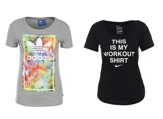 Слева направо: adidas Originals, Nike