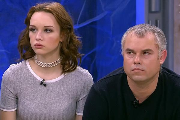 Мужчина часто появляется в эфирах программ вместе с дочерью