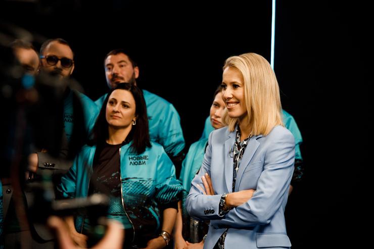 Ксения Собчак приняла участие в съемках шоу