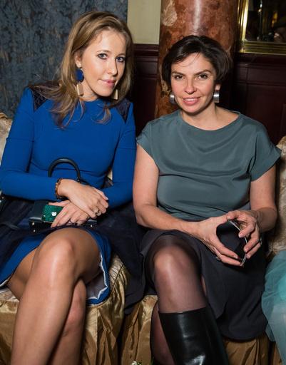 Ксения Собчак и Наталья Синдеева