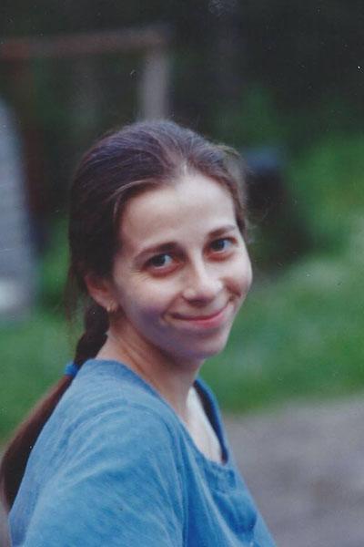 Елизавета Глинка в юности