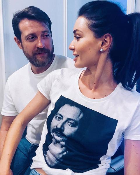 Кирилл Сафонов и его дочь Настя