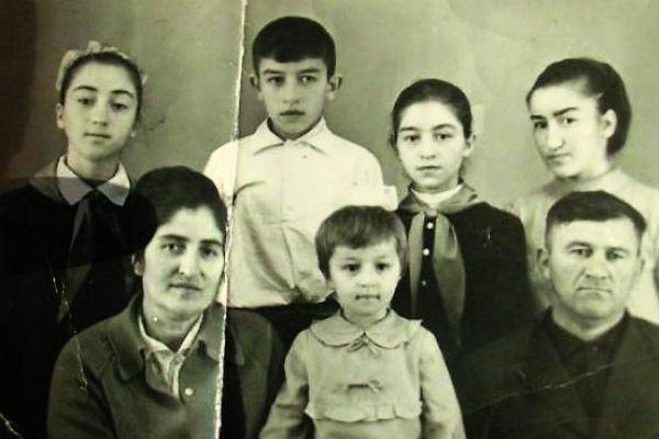 Станислав Черчесов вырос в многодетной семье, 1970-е
