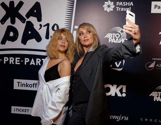 Юлия Барановская и Инна Михайлова