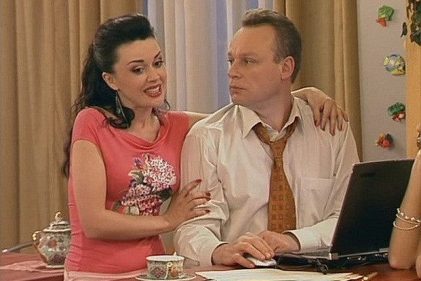 Анастасия Заворотнюк и Сергей Жигунов
