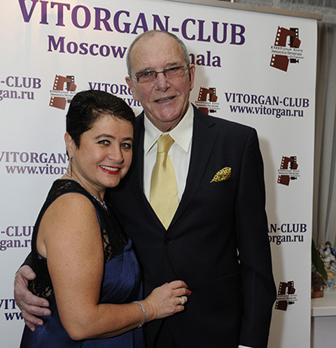 Эммануил Виторган с женой Ириной