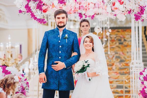 14 февраля Андрей и Ксения отметят полгода со дня свадьбы