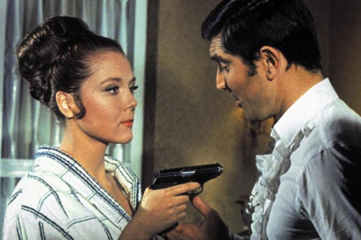 Актриса сыграла жену агента 007 в фильме «На секретной службе ее Величества»