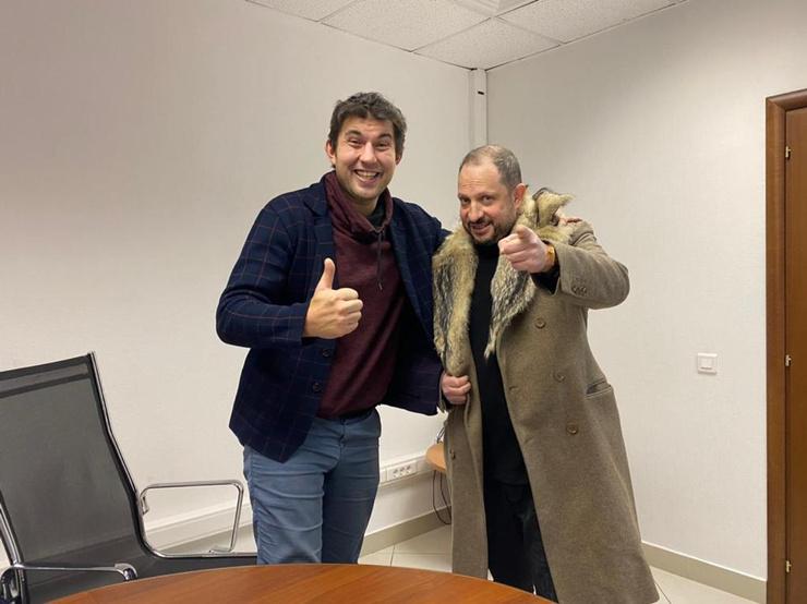 Алибасов-младший и адвокат Александр Бенхин