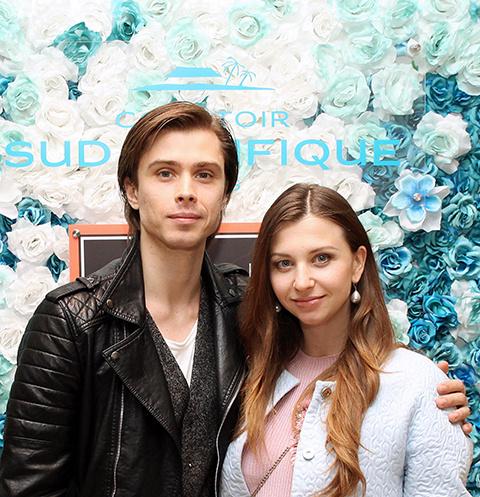 Анна Тихомирова и Артем Овчаренко