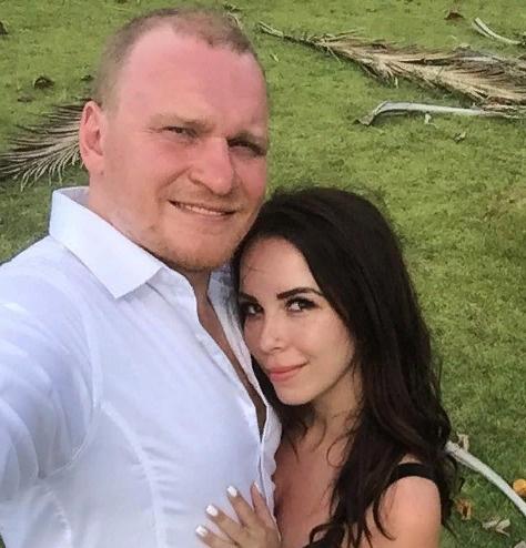 Сафронов с супругой Екатериной