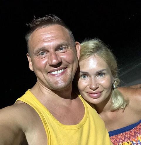 Степан Меньщиков и Ангелина Монах