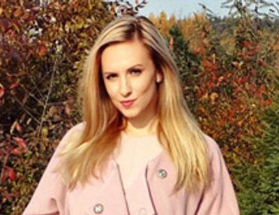 Ольга Гажиенко начинает шить пальто для всей семьи