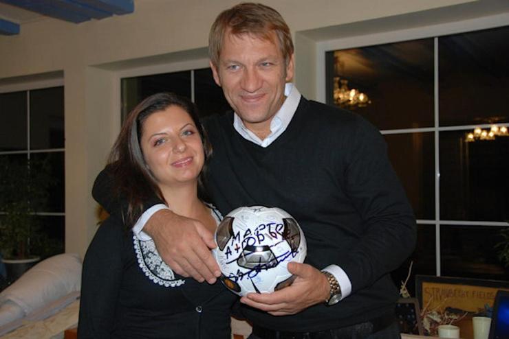 Несколько лет Симоньян встречалась с Андреем Благодыренко