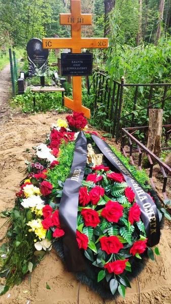 Олег Геннадьевич похоронен на Николо-Архангельском кладбище