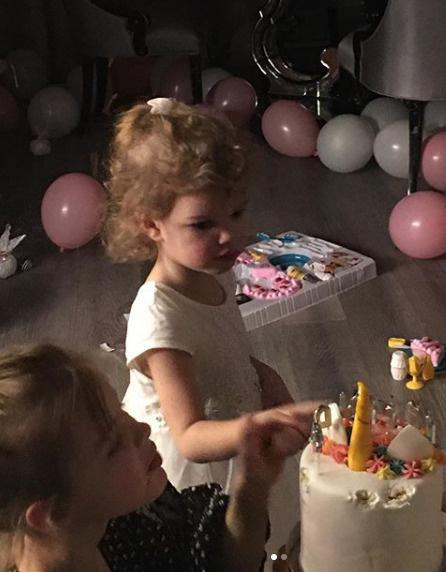 Младшей наследнице Андрея исполнилось три года