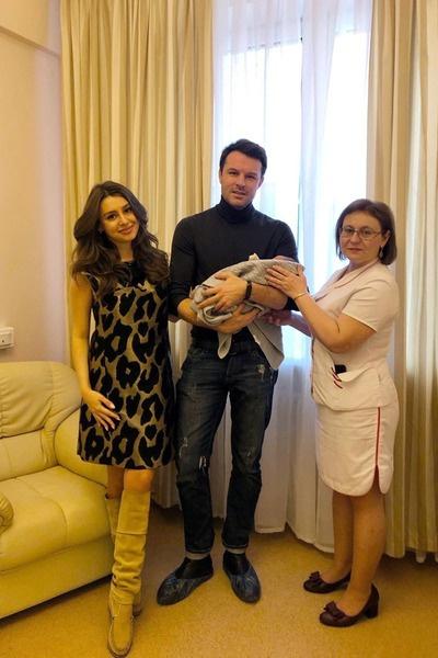 Евгений и Кристина поженились в прошлом году